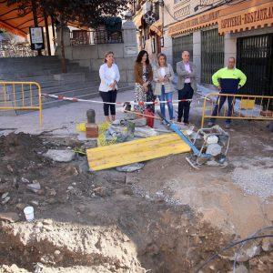 ilagros Tolón anuncia subvenciones para la rehabilitación de edificios y viviendas en el Casco por valor de 700.000 euros y visita las obras de Navar