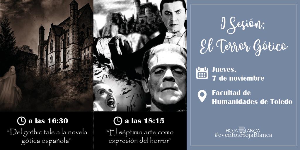 """https://www.toledo.es/wp-content/uploads/2019/10/noviembre-tw-eventos3.png. I Jornadas de literatura de terror """"Los moradores de las tinieblas"""""""
