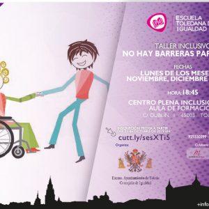 Taller inclusivo: No hay barreras para bailar