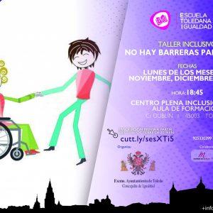 """ALLER INCLUSIVO """"NO HAY BARRERAS PARA BAILAR"""". ESCUELA TOLEDANA DE IGUALDAD."""