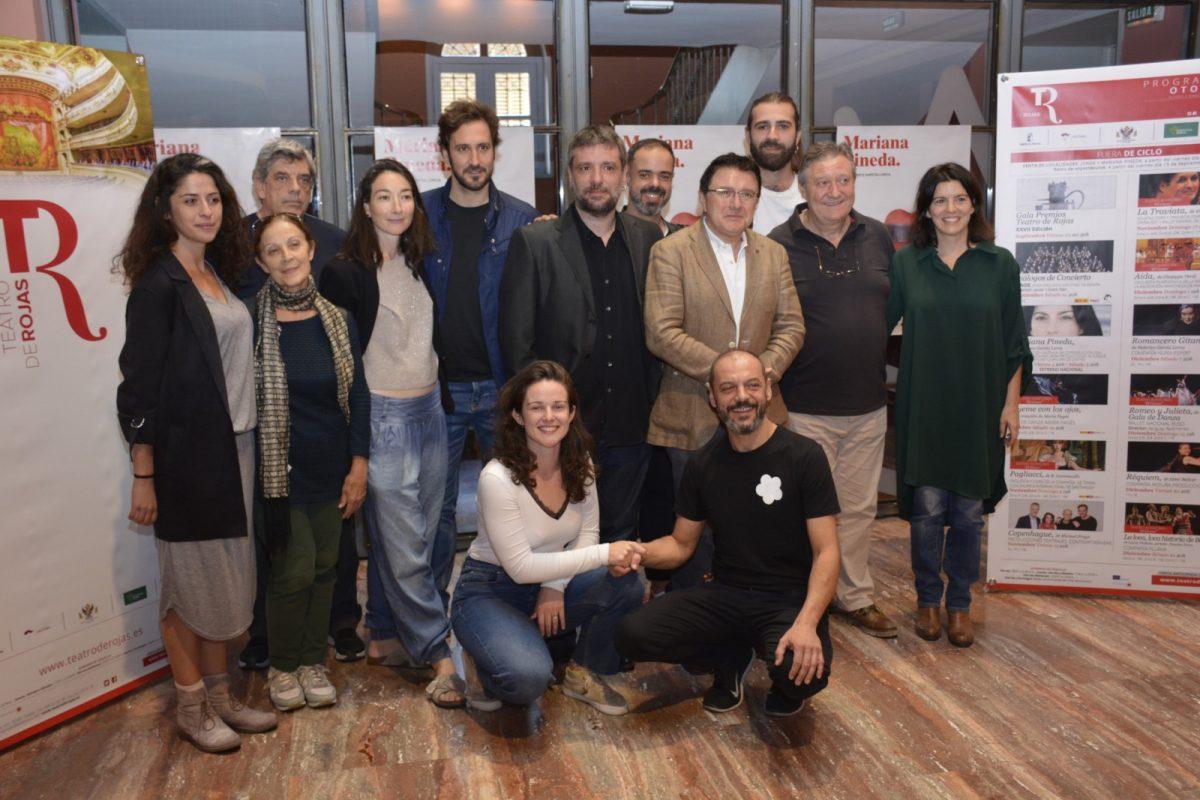 http://www.toledo.es/wp-content/uploads/2019/10/teo-garcia_mariana-pineda_1-1200x800.jpg. El Teatro de Rojas acoge el estreno nacional de 'Mariana Pineda' con un elenco encabezado por Laia Marull, Álex Gadea y Óscar Zafra
