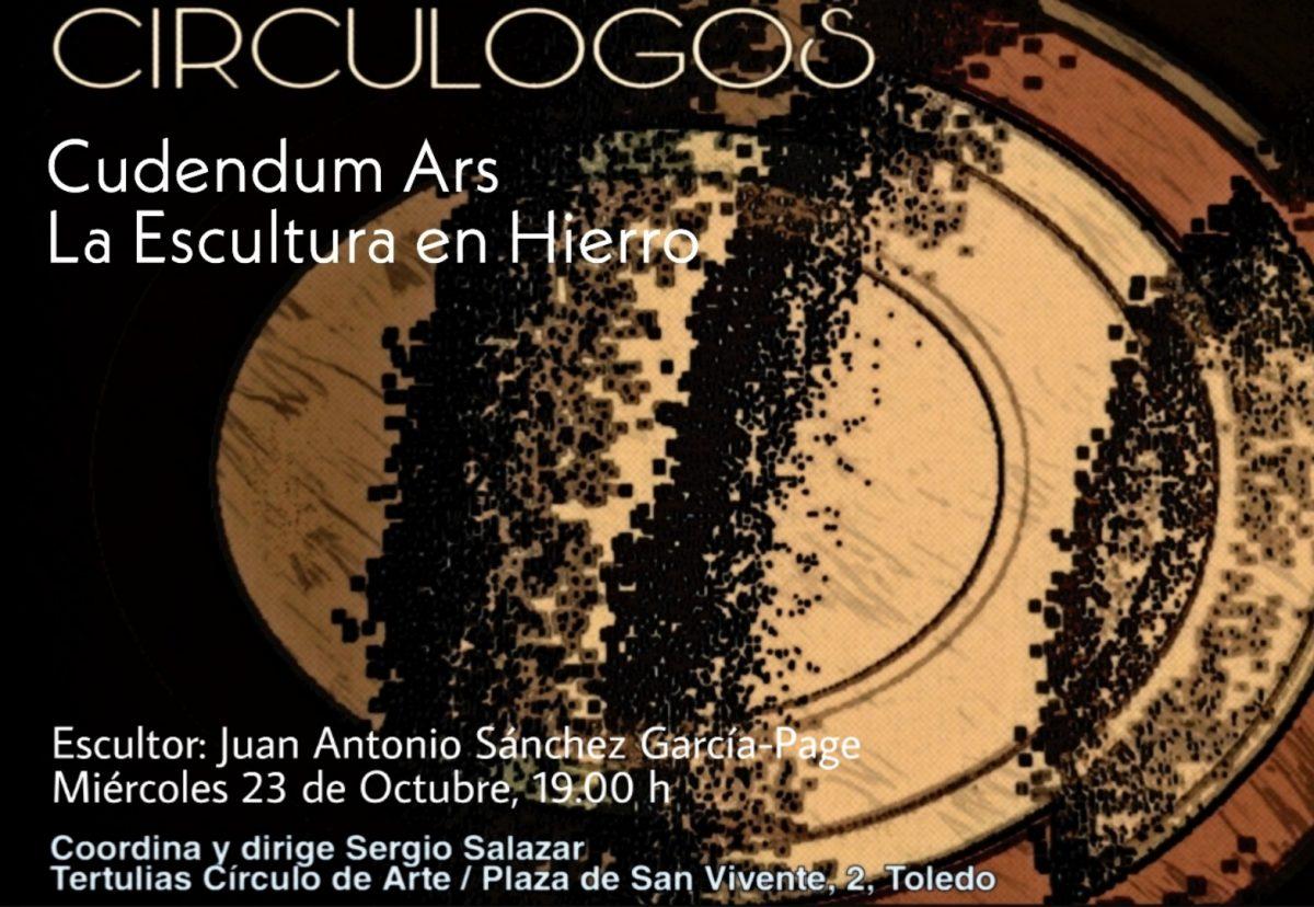 https://www.toledo.es/wp-content/uploads/2019/10/tertulia-octubre-1200x828.jpg. Tertulias Circulogos. La escultura en hierro