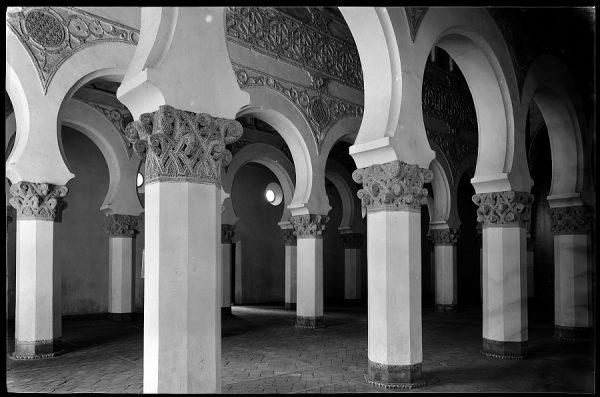 Toledo - Sinagoga de Santa María la Blanca. Interior