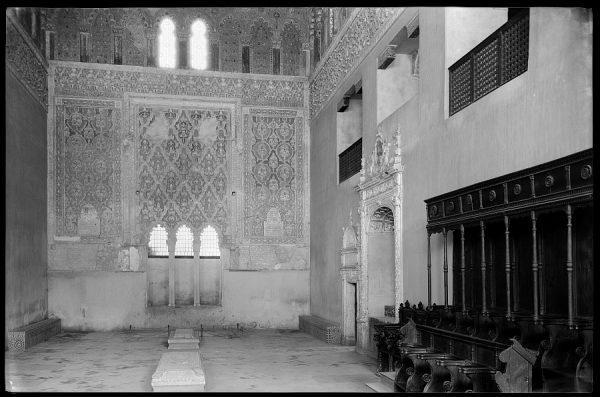 Toledo - Sinagoga del Tránsito. Interior
