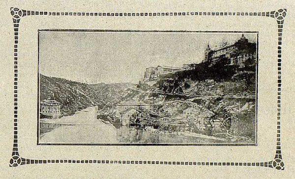 TRA-1915-006-Vista de Toledo desde el Puente de Alcántara