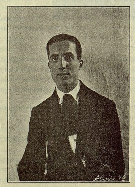 TRA-1916-055-Tomás Gómez de Nicolás, escritor-Foto Ciarán