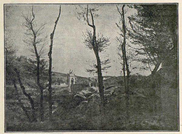 TRA-1916-056-Paisaje toledano-Foto Garcés