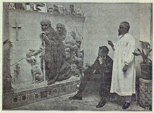 TRA-1916-059-Aurelio Cabrera con el periodista Yak-Foto Ciarán