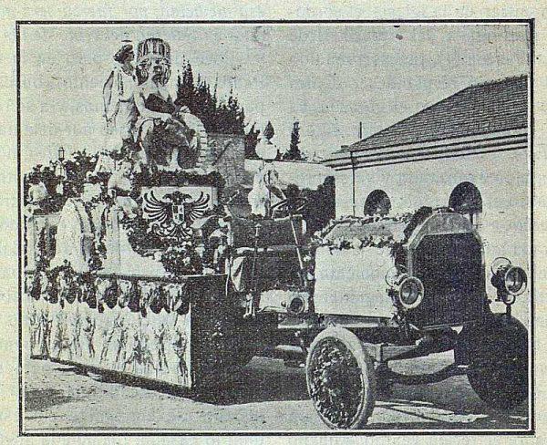 TRA-1917-075-Carroza de la Fábrica de Artillería para el Corpus