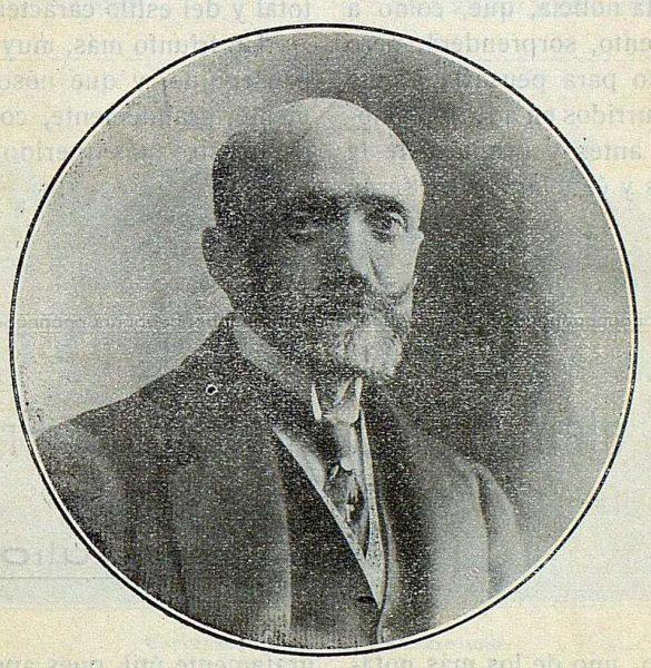 TRA-1917-083-Vicente Lampérez y Romea, escritor y arquitecto