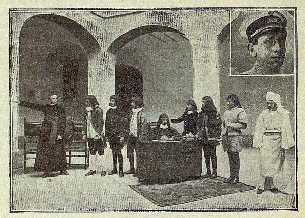 TRA-1917-088-Escena de la Obra Esos son mis poderes de Leopoldo Aguiilar