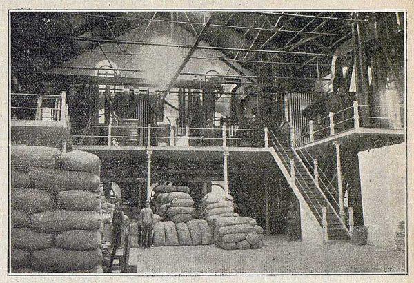 TRA-1918-091-Fábrica de harinas, interior
