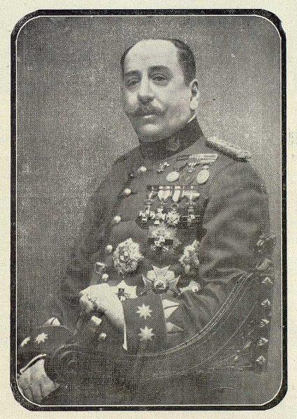 TRA-1918-092-Enrique Marzo Balaguer, director de la Academia de Infantería