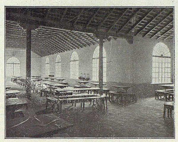 TRA-1918-096-Fábrica de Armas, comedor para obreros