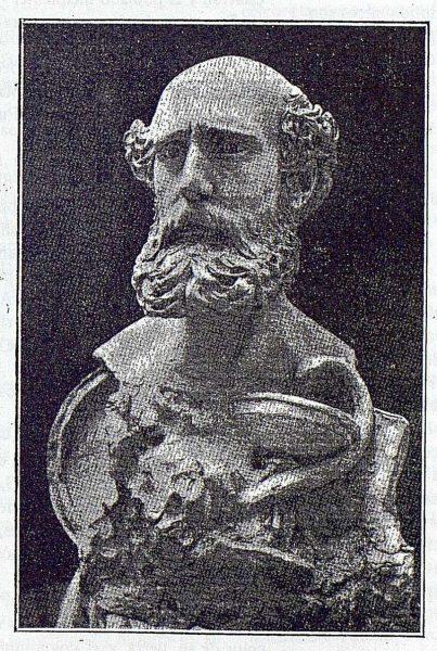 TRA-1918-110-Busto de Juan Moraleda y Esteban, autor Aurelio Cabrera