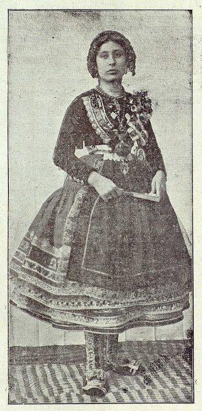 TRA-1919-132-Una lagarterana-Foto Ruiz de Luna