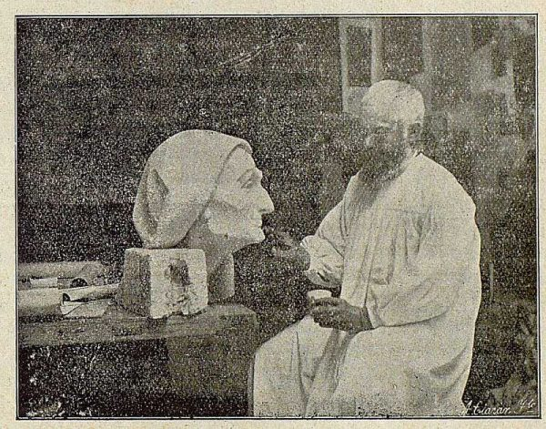 TRA-1921-162-Aurelio Cabrera y Gallardo, nuevo director de la Escuela de Artes y Oficios