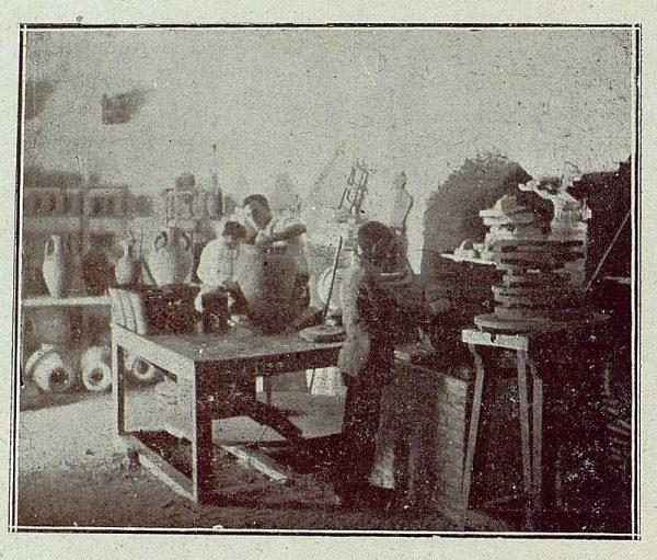 TRA-1921-163-Cerámica Aguado, taller de tornos