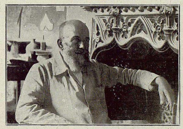 TRA-1921-163-Sebastián Aguado Portillo, ceramista-Foto González Nieto