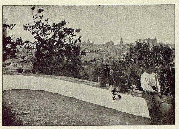 TRA-1921-173-Vista de Toledo desde un cigarral-Foto Comendador