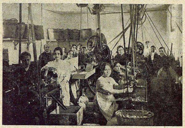 TRA-1921-176-Diana S.A., fábrica de cartuchos de caza-Foto Rodríguez