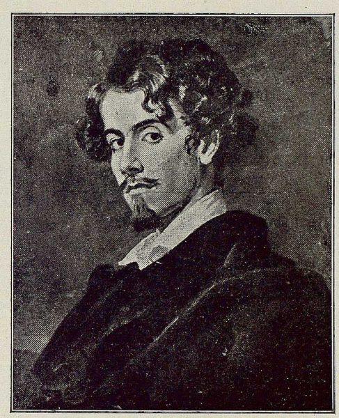 TRA-1921-178-Cuadro de Gustavo Adolfo Becquer