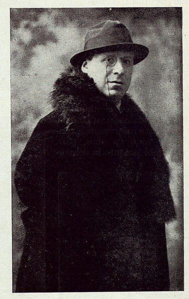 TRA-1922-184-Antonio de Hoyos y Vinet, escritor