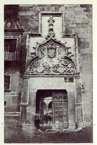TRA-1922-187-Palacio de los Duques de Maqueda, portada