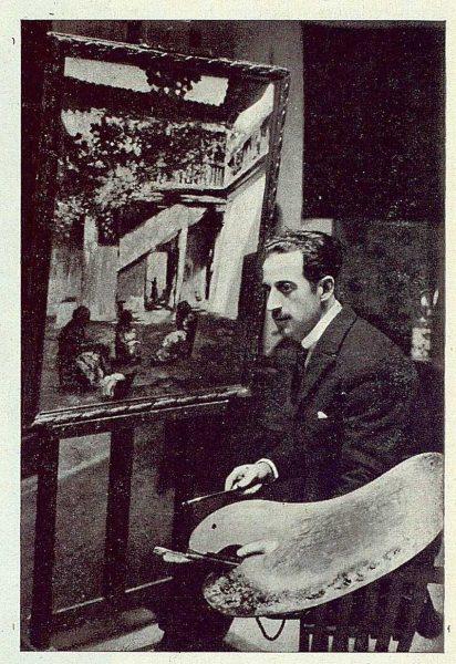 TRA-1923-195-Rafael Estefaní, trabajando-Foto Rodríguez