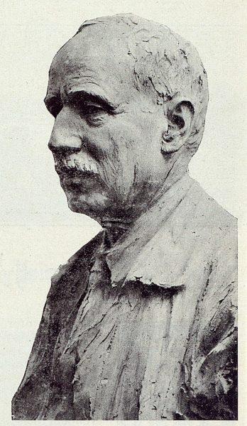 TRA-1923-197-Juan Ruiz de Luna, ceramista, busto del Sr. Campos