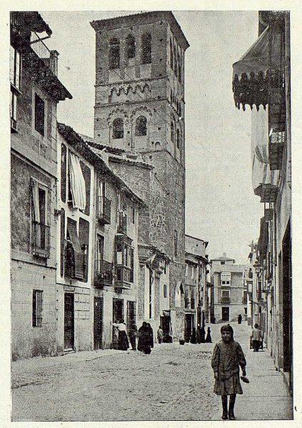 TRA-1923-199-Calle de Santo Tomé-Foto Clavería
