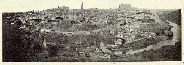 TRA-1924-211-Homenaje a Barrés, vista de Toledo