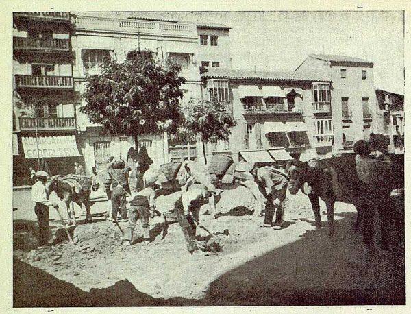 TRA-1925-224-Plaza de Zocodover, obras-01-Foto Gálvez