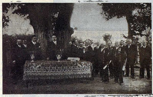 TRA-1926-232-Acto en la Jefatura de Obras Públicas-Foto Rodríguez