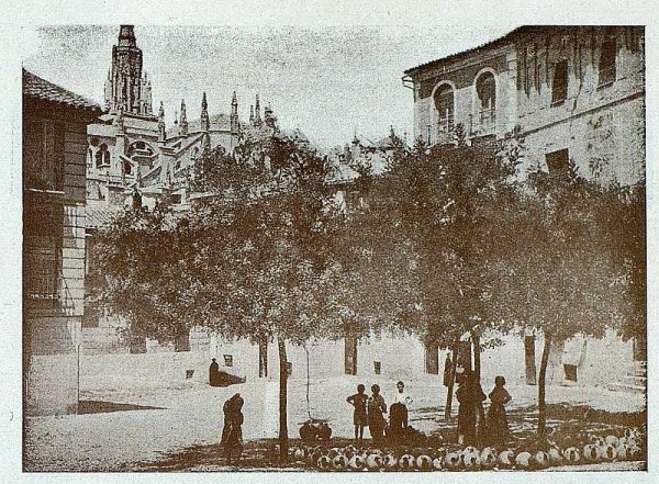 TRA-1927-246-Plaza de San Justo-Foto Clavería
