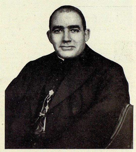 TRA-1928-251-Nuevo Primado, cardenal Pedro Segura Sáenz-Foto Rodríguez