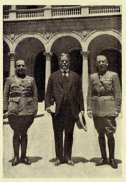TRA-1928-262-Alberto Barrera, presidente del senado de Cuba en el Alcázar
