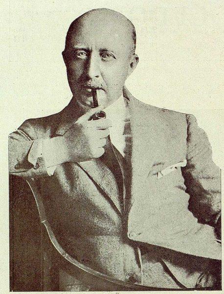 TRA-1929-269-Exposición Regional de Bellas Artes e Industrias, Conde de Güel, presidente del Patronato Nacional de Turismo