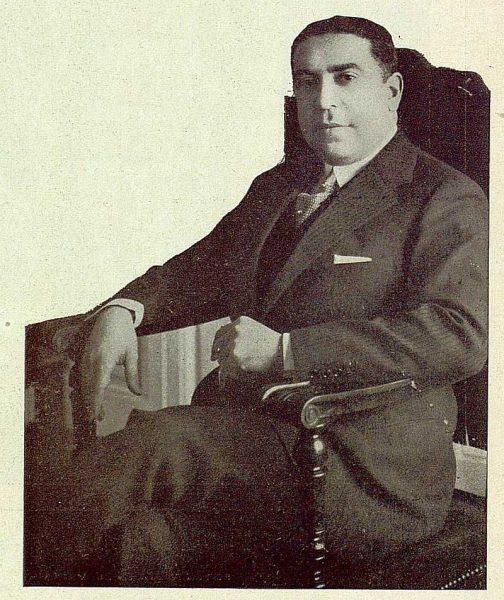 TRA-1929-269-Exposición Regional de Bellas Artes e Industrias, José Antonio Sangroniz, Secretario General del Patronato Nacional de Turismo