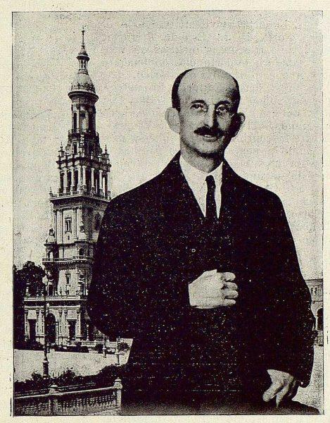 TRA-1929-271-Aníbal González, arquitecto-artista