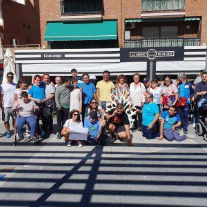 l equipo de Gobierno participa en la iniciativa 'Dale la Vuelta', promovida por APACE en el marco del Día de la Parálisis Cerebral