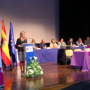 ilagros Tolón expresa, como vicepresidenta de la FEMP, el apoyo a las fuerzas y cuerpos de seguridad del Estado ante los disturbios en Cataluña