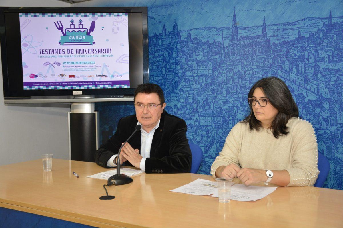 https://www.toledo.es/wp-content/uploads/2019/11/02-ciencia-carta-1200x800.jpg. Ciencia a la Carta celebra su segundo aniversario con apoyo municipal y la propuesta 'Callejeros ingenieros' para el día 16