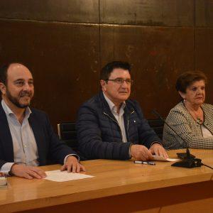 l Gobierno local participa en la conferencia de Miguel Ángel Dionisio sobre el rey Recaredo organizada por la Coordinadora de AA VV del Casco