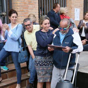 a alcaldesa traslada el pésame por la muerte de Guillermo Escolante, referente del movimiento vecinal de la ciudad