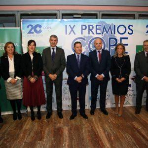 ilagros Tolón felicita a los galardonados en los IX Premios COPE Castilla-La Mancha porque son un estímulo para toda la sociedad