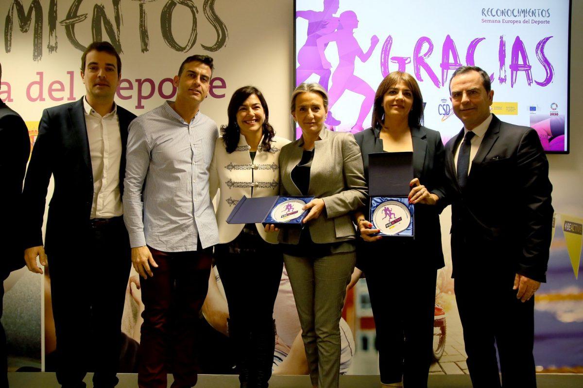 https://www.toledo.es/wp-content/uploads/2019/11/5_premios_deporte-1200x800.jpg. Milagros Tolón traslada a clubes y entidades el reconocimiento del Consejo Superior de Deportes a Toledo por la Semana Europea del Deporte