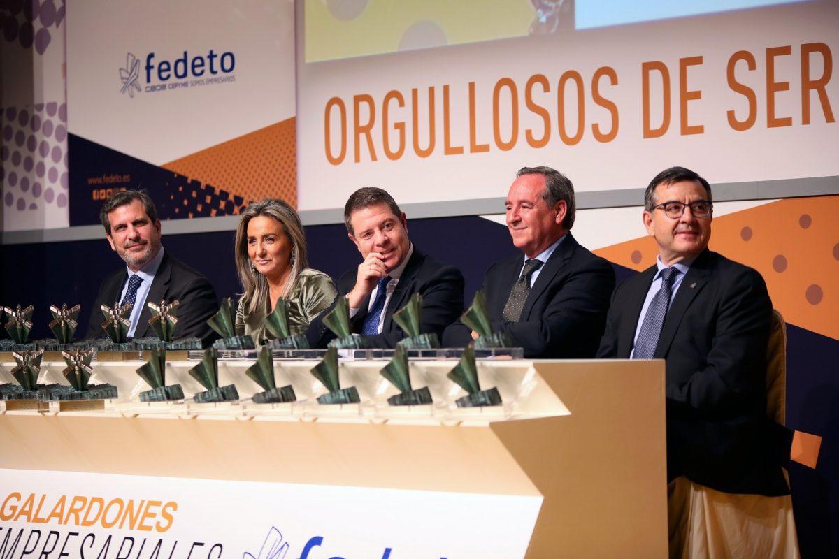 http://www.toledo.es/wp-content/uploads/2019/11/5_premios_fedeto-1200x800.jpg. Milagros Tolón anuncia la inminente creación de un centenar de empleos gracias a la ampliación de negocio de tres empresas