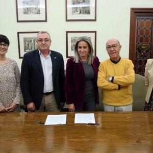 ilagros Tolón renueva el convenio de colaboración con Cruz Roja para el programa de necesidades básicas en la ciudad de Toledo