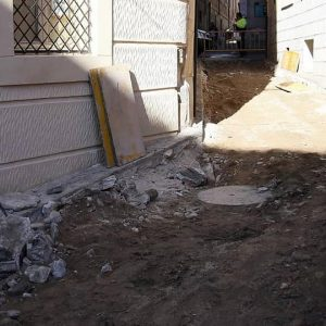 el 4 al 13 de noviembre, la calle Alfonso X estará cortada al tránsito de vehículos y peatones por obras de canalización